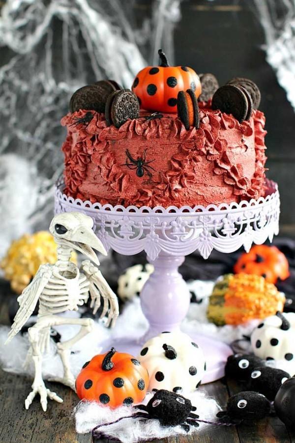 Dekoration Halloween Torte Halloween Kuchen