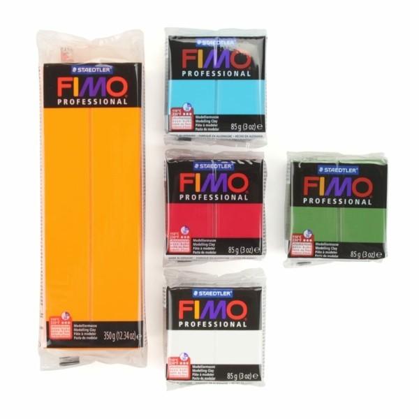 Fimo Ideen DIY Weihnachtsdeko selber machen Fimo Modelliermasse