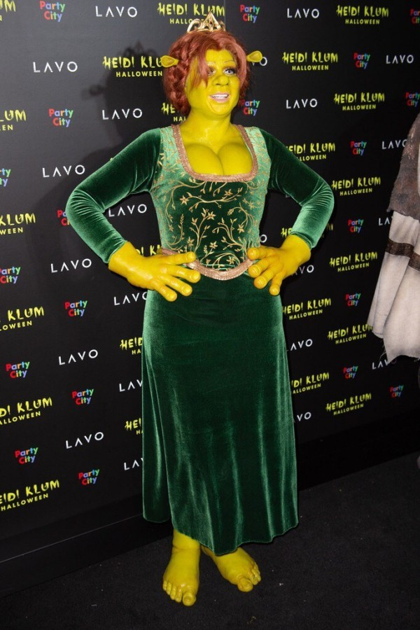 Fiona 2018 Heidi Klum Halloween Kostüme