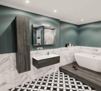 ▷ 1001 Badezimmer Ideen - Fliesen, Leuchten, Möbel und ...