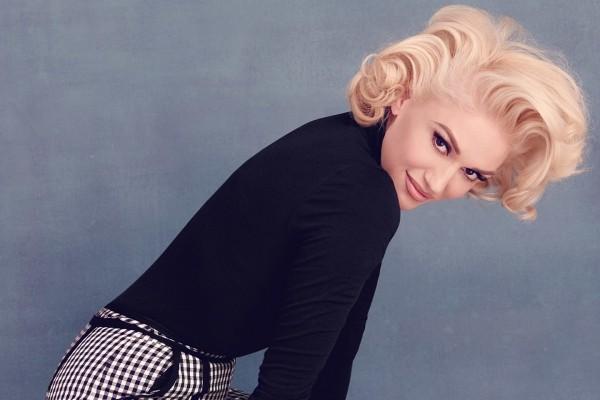 Gwen Stefani am Oktober 50 Jahre alt mädchenhaft und perfekt gestylt