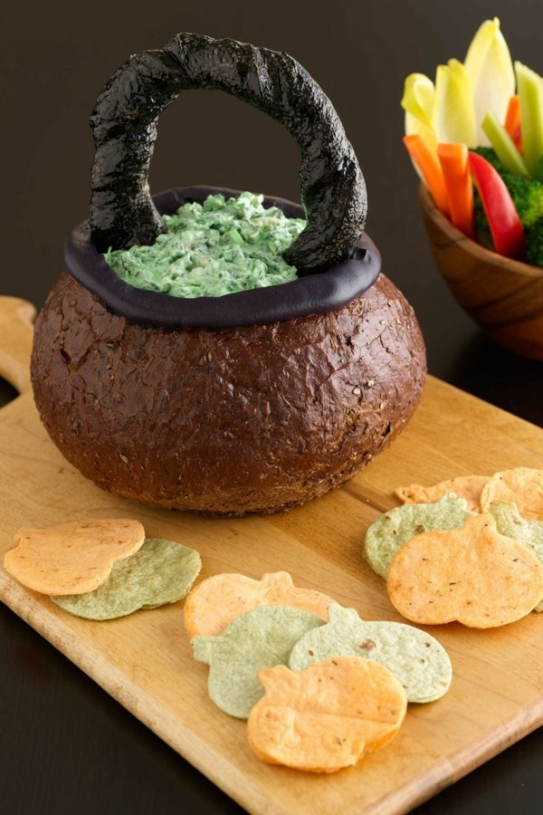 Halloween Essen Kinder Brot backen Halloween Ideen