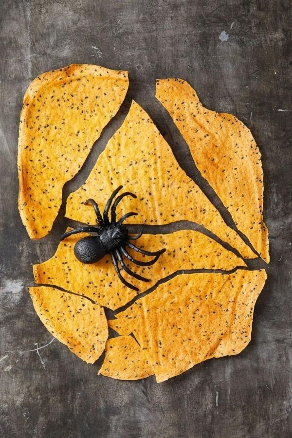 Halloween Essen Kinder Partysnacks Fingerfood kalt