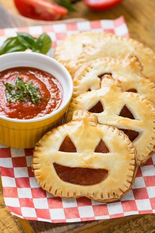 Halloween Essen Kinder Snacks für Halloween Fingerfood Blätterteig