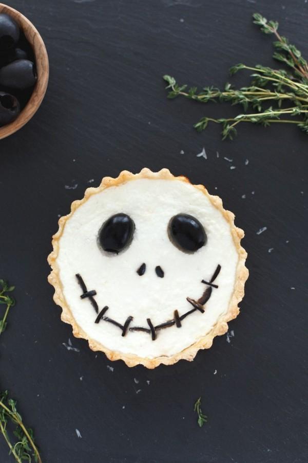 Halloween Essen Kinder schnelle Fingerfood Rezepte Gespenster basteln