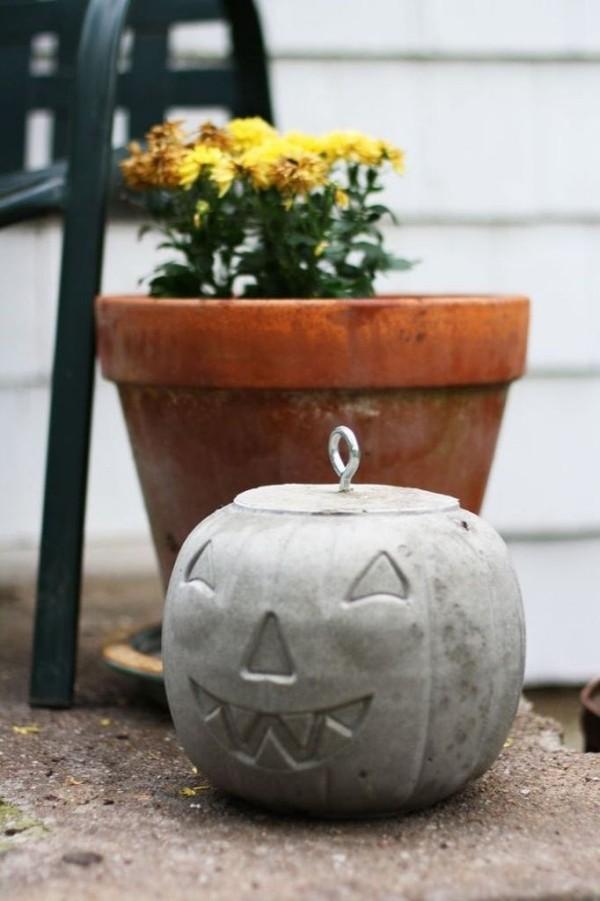 Halloween Kürbis - Deko für den Boden