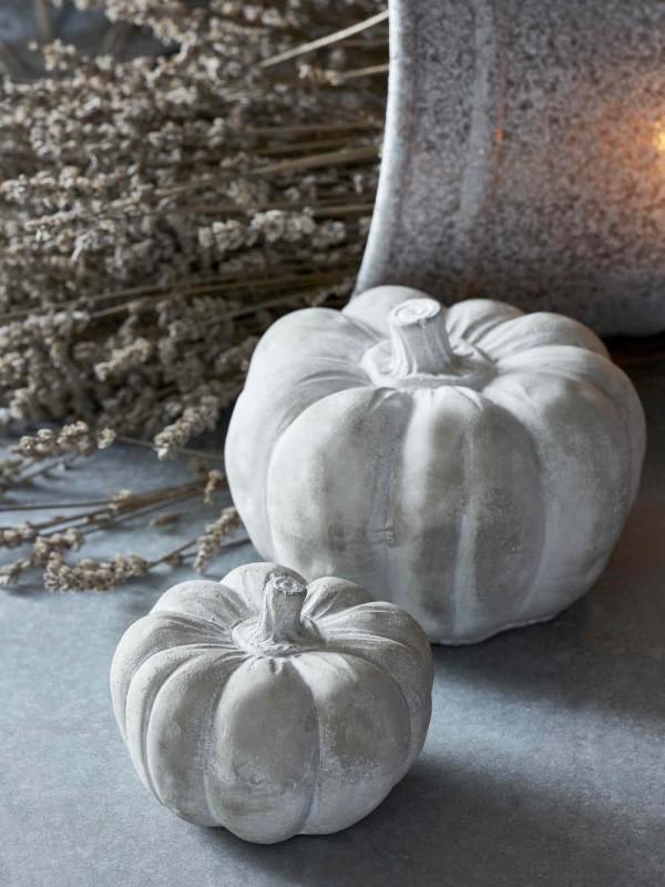 Halloween Kürbis - alles in einem tollen Weiß