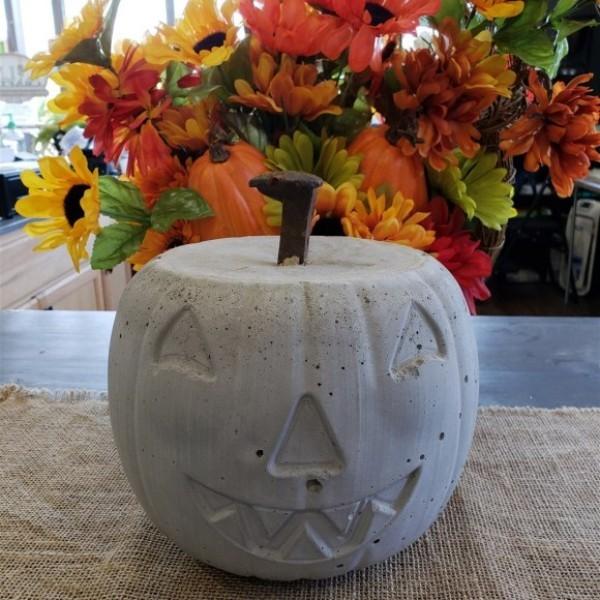 Halloween Kürbis - einfache und schicke Deko