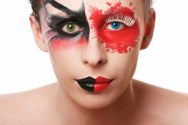 Halloween Kontaktlinsen Tageslinsen Augen gesund halten Tipps