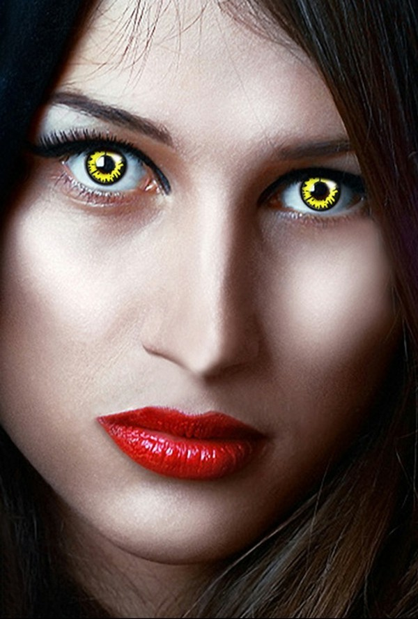 Halloween Kontaktlinsen Tageslinsen Augen gesund