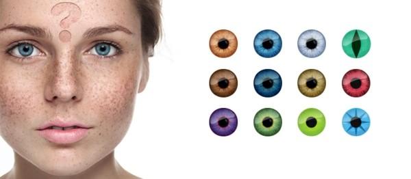 Halloween Kontaktlinsen Tageslinsen dekorative Linsen Farblinsen