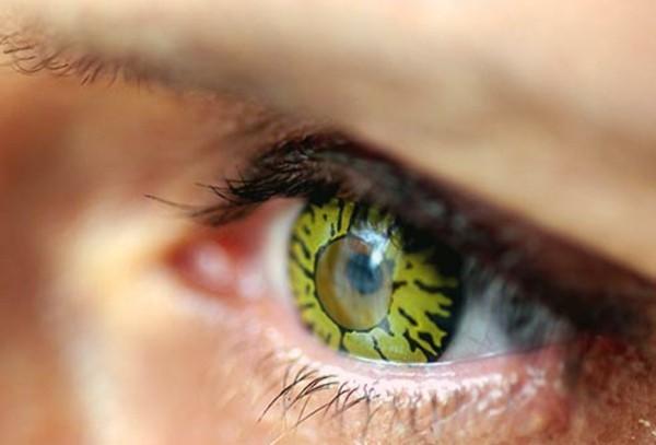 Halloween Kontaktlinsen effektvolle Tageslinsen Augen gesund