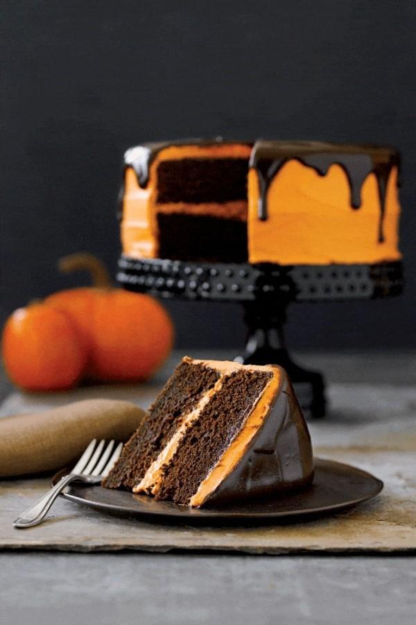 Halloween Kuchen Dekoration fürs Fest