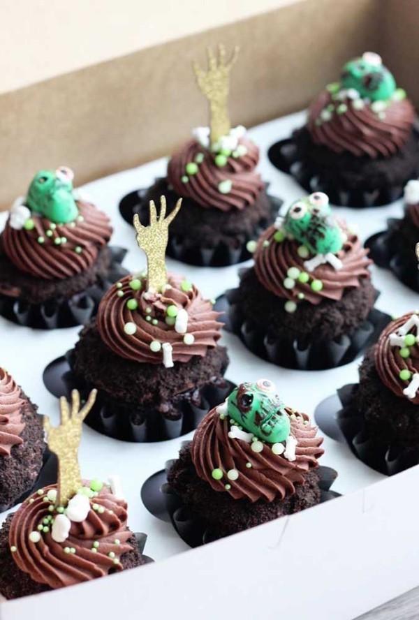 Halloween Kuchen - leckere Plätzchen