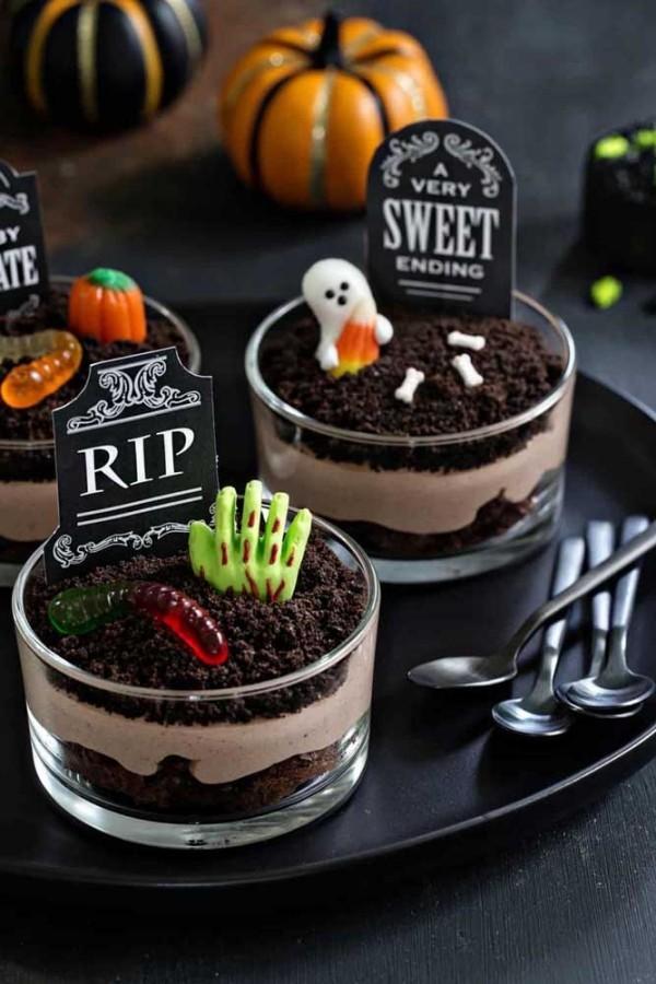 Halloween Kuchen - thematische Desserts