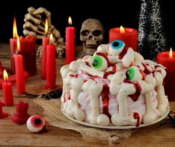 Halloween Kuchen - tolle Knöchen für Halloween
