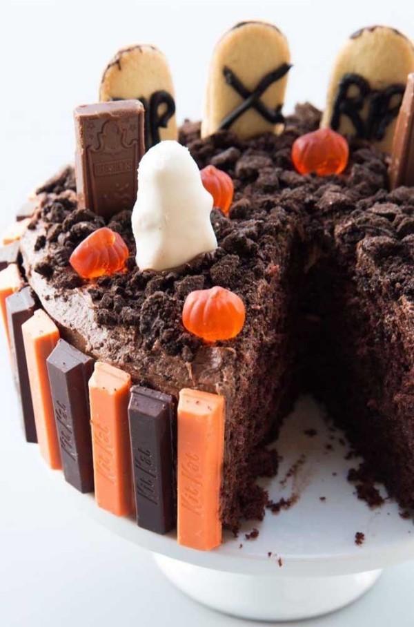 Halloween Kuchen wunderbare Ideen für Kuchen Halloween Torten