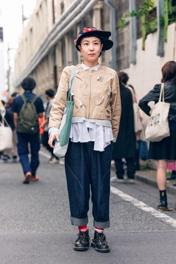Hose mit einem tollen Oberteil - Modetrends Street Fashion