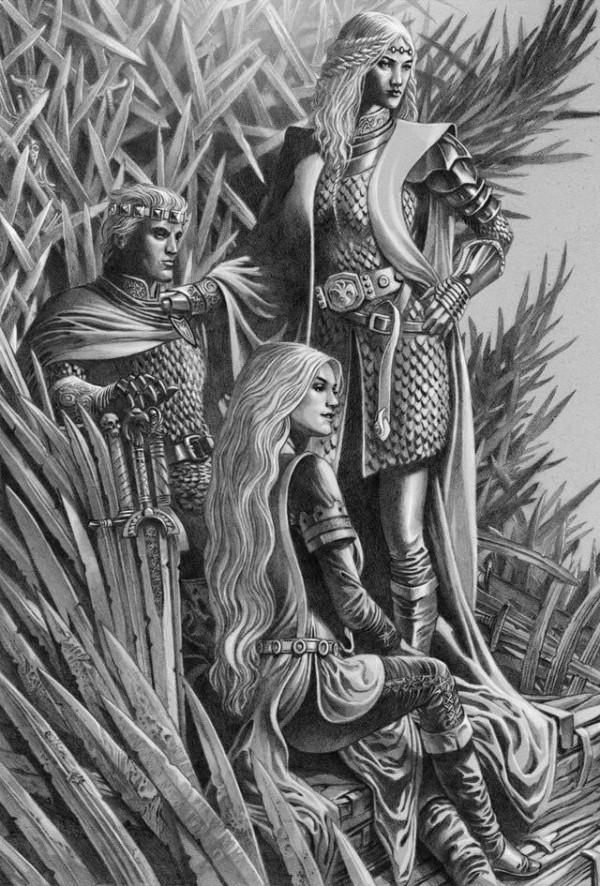 House of the Dragon Alles, was wir über das Game of Thrones Prequel wissen drei geschwister