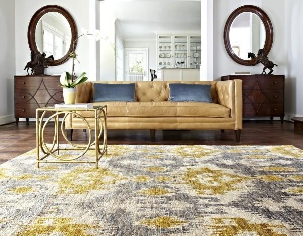 Inneneinrichtung Ideen Teppich Wohnzimmergestaltung