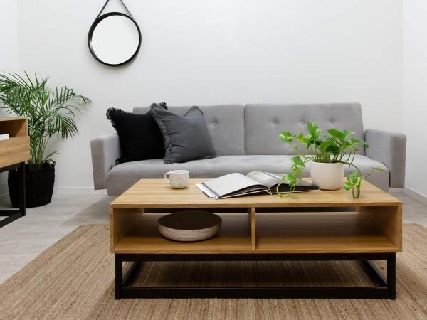 Inneneinrichtung Tisch im Wohnzimmer