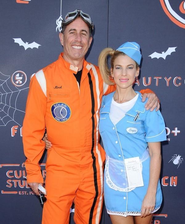 JESSICA und JERRY SEINFELD zwei tolle Halloween Kostüme