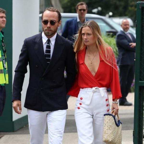 James Middleton heimliche Verlobung mit Alizee Thevenet am vergangenen Wochenende Wimbledon Finale 2019