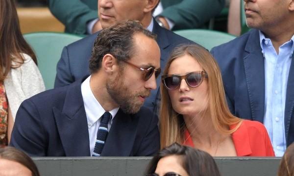 James heimliche Verlobung mit Alizee Thevenet am vergangenen Wochenende