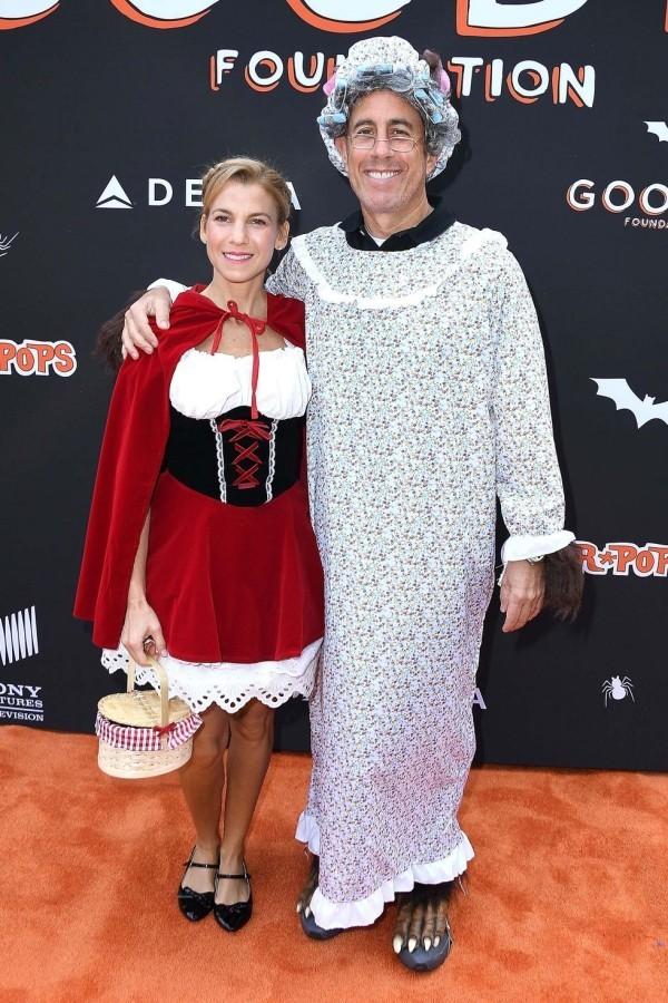 Jerry Seinfeld und Jessica Seinfeld in einmaligen Halloween Kostümen