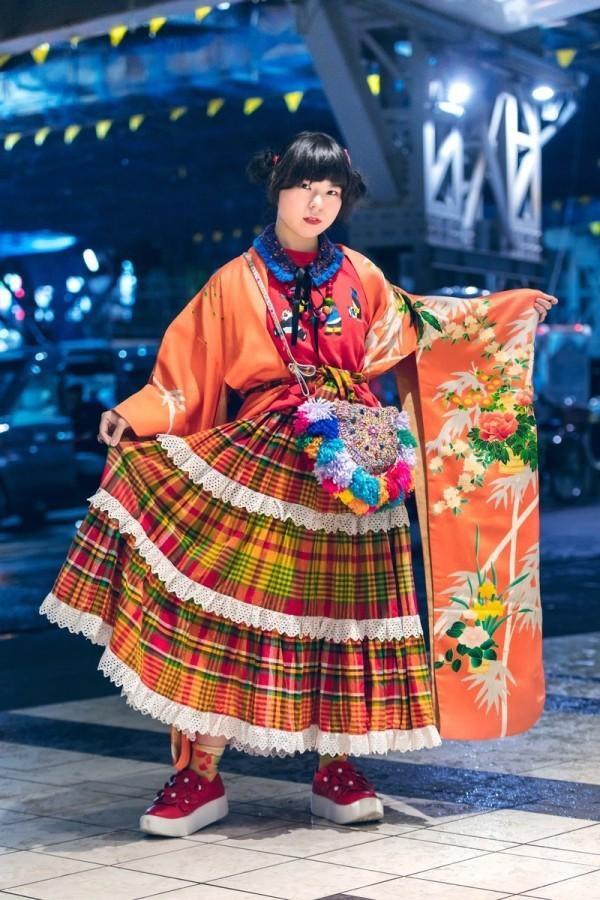 Karriertes Kleid - Trends Damen - Modetrends Street Fashion