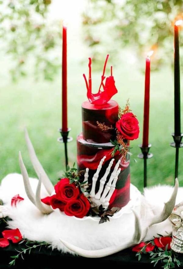 Kuchen Halloween Torten Ideen toll