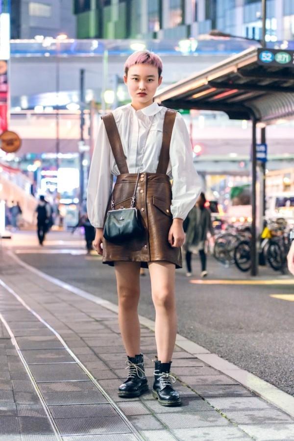 Kurzer Hosenanzug - tolle Idee Modetrends Street Fashion