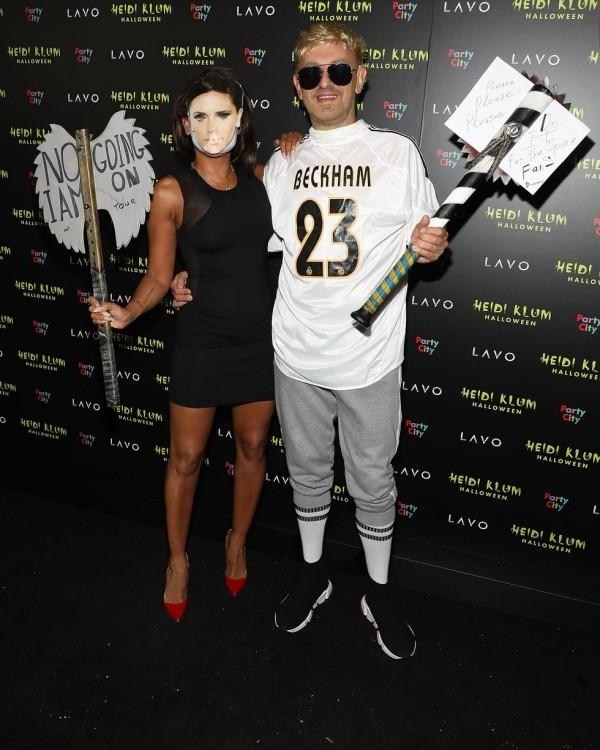 Mel B und Gary Madatyan Halloween Kostüm