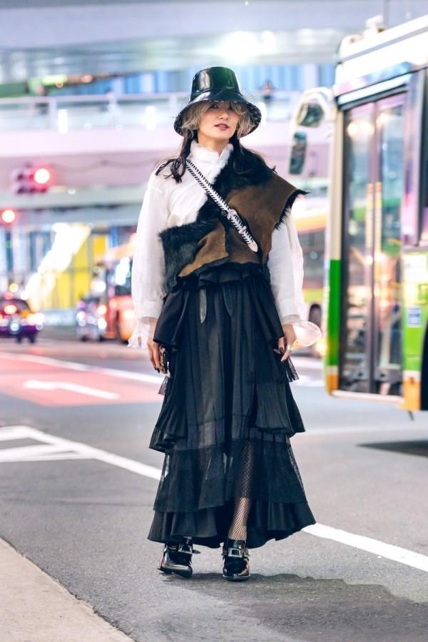 Modetrends Street Fashion Kleid Street Fashion Trends Damen