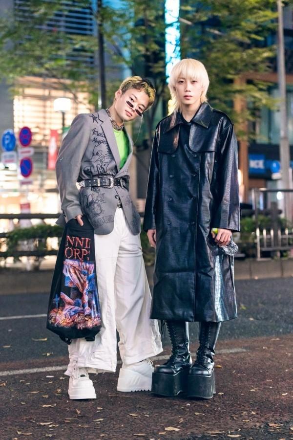 Modetrends Street Fashion Weiß und Schwarz - tolle Ideen