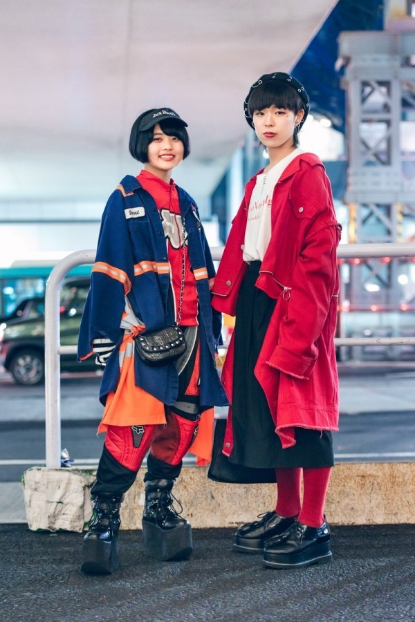 Modetrends Street Fashion - tolle Damen - Modetrends
