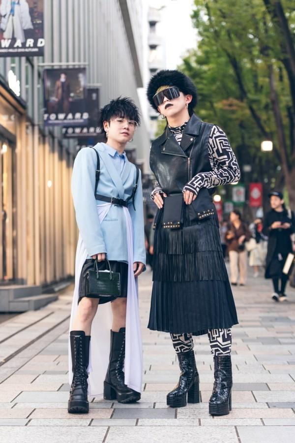 Modetrends Street Fashion - tolle Farben für alle Saisons - Street Style