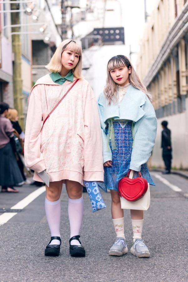 Modetrends Street Fashion - viele verschiedene Ideen - Damen- Fashion Week Damen
