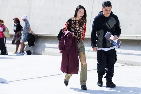 Modetrends Studenten Street fashion