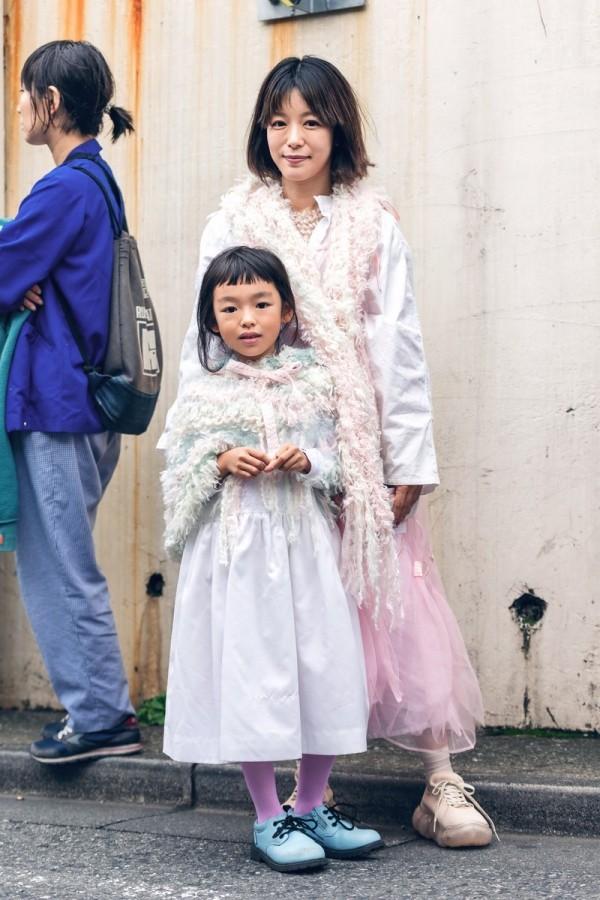 Mutter und Kind Street Style Ideen Modetrends Street Fashion