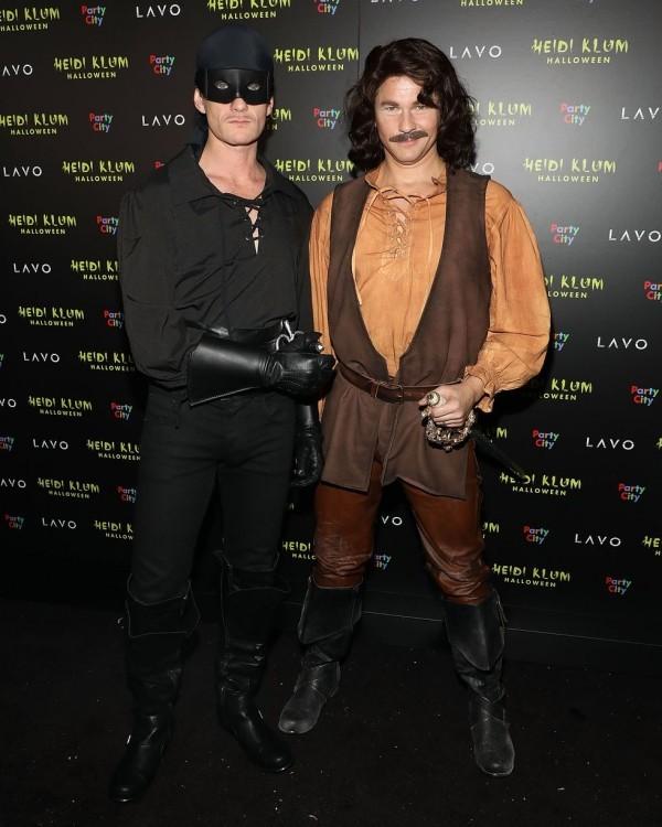 Neil Patrick Harris und David Burtka Halloween Kostüm