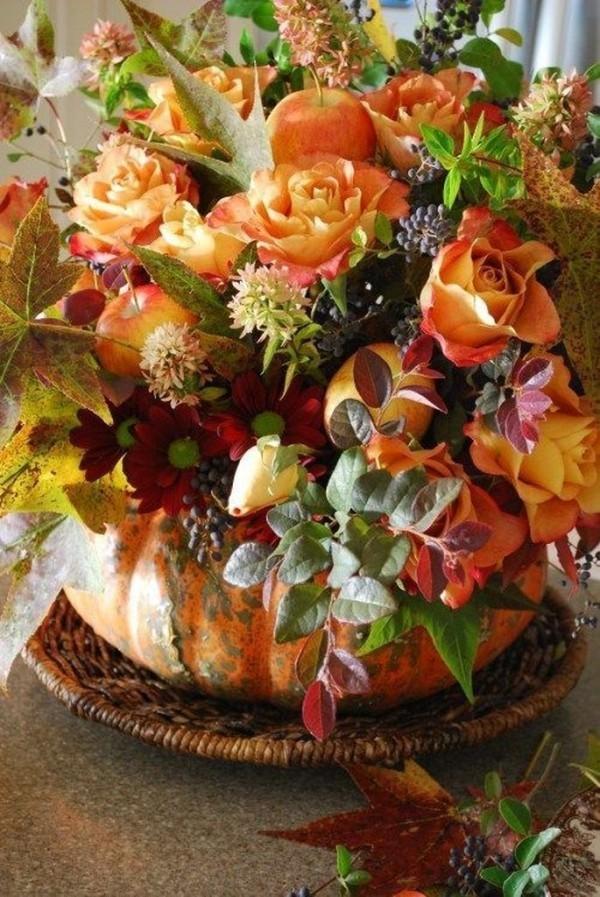 Pflanzen und andere Ideen - Halloween Kürbis