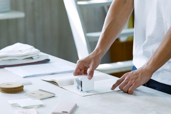 PrinCube ist ein winziger Handdrucker, der auf jeder Oberfläche drucken kann neuestes gadget von thegodthings
