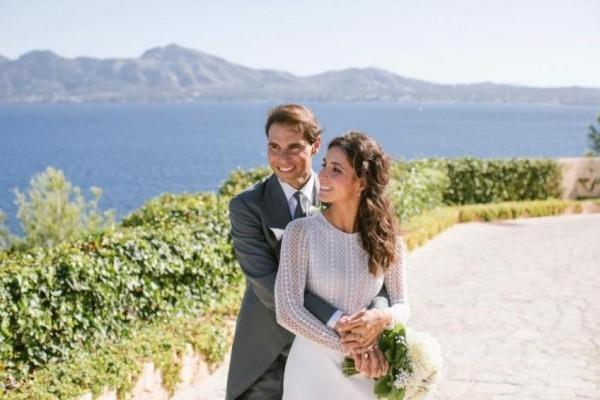 Rafael Nadal Hochzeit auf Mallorca am Samstagnachmittag heiratete seine Langzeitfreundin María Francisca Perelló erste Fotos aufgetaucht