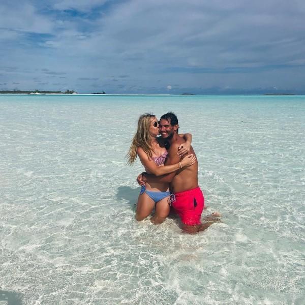 Rafael Nadal Hochzeit auf Mallorca am Samstagnachmittag heiratete seine Langzeitfreundin María Francisca Perelló machen gern Badeurlaub