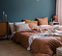 Das Schlafzimmer herbstlich gestalten – warme Herbstfarben verwandeln es in einen gemütlichen Rückzugsort