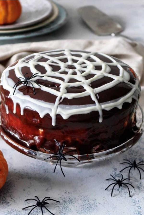 Schoko Torte Halloween Kuchen