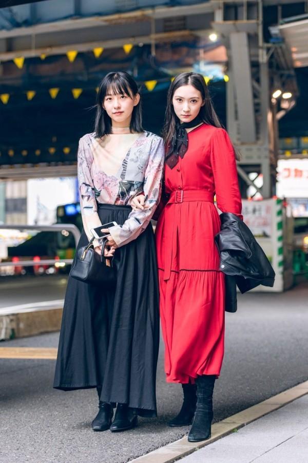 Schwarz weiße Ideen - Street Style Modetrends Street Fashion
