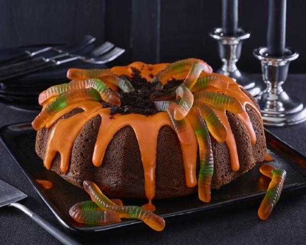 Sehr schlichtes Rezept - Halloween Kuchen mit Möhren