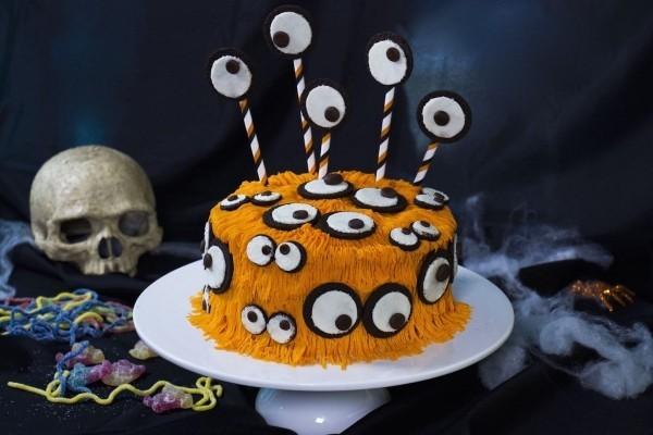 Tolle Augen - wunderbarer Halloween Kuchen